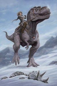 f75ab720903d8e8c1601515080dd76df--dinosaur-art-dinosaur-rider