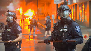 Photos: Scenes from Downtown Seattle as protests rage over ...