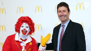 Ex-McDonald's CEO sued over alleged sexual relationships, nude videos