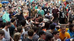 Mosh Pit Math: Physicists Analyze Rowdy Crowd : NPR