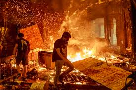 Destruction caused by white rioters is being widely acknowledged ...