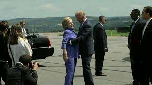 Watch Joe Biden give an endless hug to Hillary Clinton - CNN Video