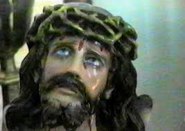 Visions of Jesus Christ.com - Little Audrey Santo's Jesus statues cry blood  and oil.