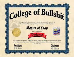 College Degrees Are Sometimes Bullshit - Yes, I Am Cheap