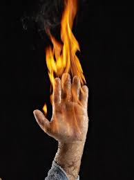 How To Light Your Hand On Fire Without Burning Yourself by David Herrmann -  Musely
