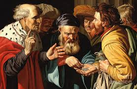 The Payment of Judas Painting by Gerard Seghers
