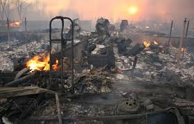Gallery: Slave Lake burns