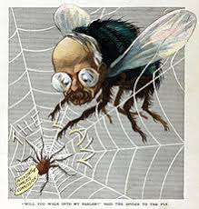 The Spider and the Fly (poem) - Wikipedia