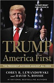 Trump: America First: The President Succeeds Against All Odds: Lewandowski,  Corey R., Bossie, David N.: 9781546084921: Amazon.com: Books