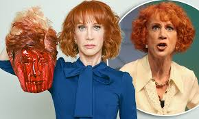 Kathy Griffin still receives death threats after THAT controversial Donald  Trump joke | Daily Mail Online