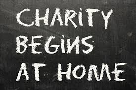 When charity begins at home | The Standard