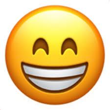 Grinning Face with Smiling Eyes Emoji (U+1F601)