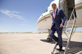 Image result for John Kerry and his plane
