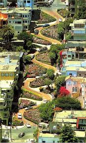 Image result for crooked street California