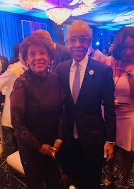 Image result for Maxine Waters and al sharpton