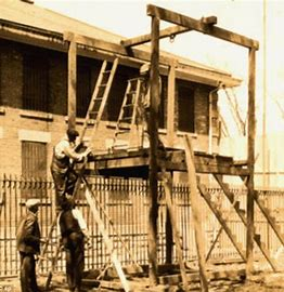 Image result for building the gallows