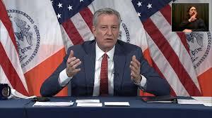 """De Blasio Says Cuomo """"Can No Longer Serve As Governor"""""""