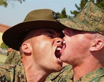 Image result for drill instructor screaming in your face